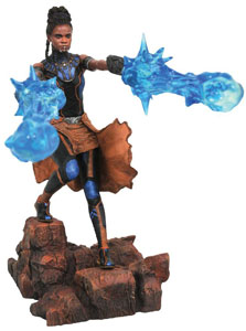BLACK PANTHER MARVEL MOVIE GALLERY STATUETTE SHURI 23 CM