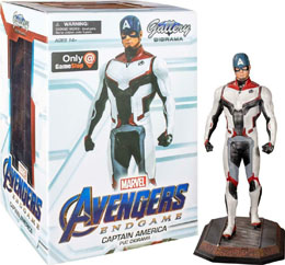 AVENGERS ENDGAME MARVEL MOVIE GALLERY STATUETTE TEAM SUIT CAPTAIN AMERICA EXCLUSIVE 23 CM