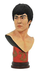 BRUCE LEE LEGENDS IN 3D BUSTE 1/2 BRUCE LEE 25 CM