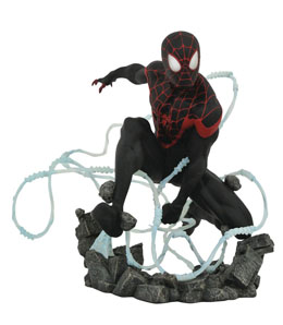 MARVEL COMIC PREMIER COLLECTION STATUETTE MILES MORALES SPIDER-MAN 23 CM / EDITION LIMITEE