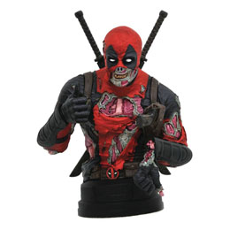 MARVEL BUSTE 1/6 DEADPOOL ZOMBIE SDCC 2020 15 CM