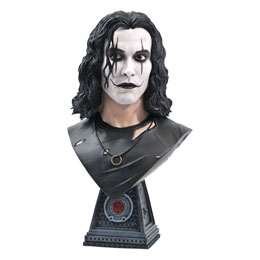 THE CROW LEGENDS IN 3D BUSTE 1/2 ERIC DRAVEN 25 CM - LIMITED EDITION