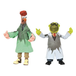 The Muppets figurines Box Set Lab Accident Bunsen & Beaker SDCC 2021 Previews Exclusive