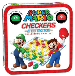 SUPER MARIO JEU DE DAMES COLLECTOR'S GAME