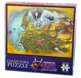 PUZZLE LEGEND OF ZELDA MAJORA'S MASK TERMINA 550 PIECES