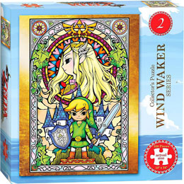Photo du produit PUZZLE LEGEND OF ZELDA WIND WAKER 550 PIECES