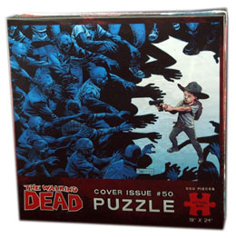 PUZZLE WALKING DEAD PUZZLE COVER ISSUE 50 (550 PIECES)