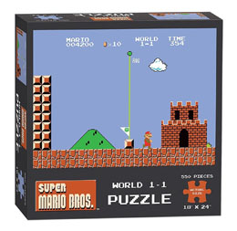 Photo du produit SUPER MARIO BROS. PUZZLE WORLD (550 PIECES)