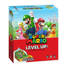 SUPER MARIO JEU DE PLATEAU LEVEL UP (ANGLAIS)