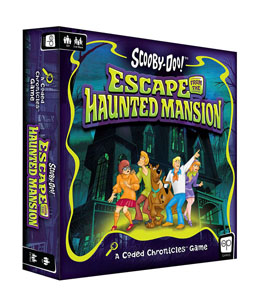 SCOOBY-DOO JEU DE PLATEAU ESCAPE FROM THE HAUNTED MANSION