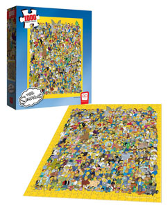 Photo du produit SIMPSONS PUZZLE CAST OF THOUSANDS (1000 PIÈCES) Photo 2