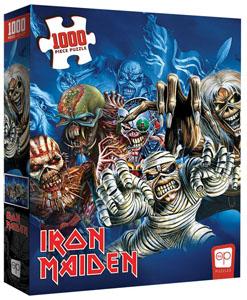 Iron Maiden puzzle The Faces of Eddie (1000 pièces)