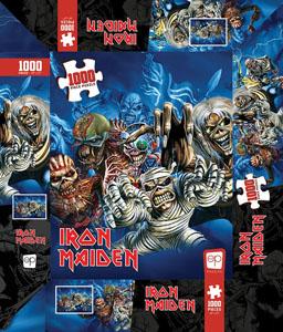 Photo du produit Iron Maiden puzzle The Faces of Eddie (1000 pièces) Photo 1