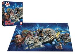 Photo du produit Iron Maiden puzzle The Faces of Eddie (1000 pièces) Photo 2