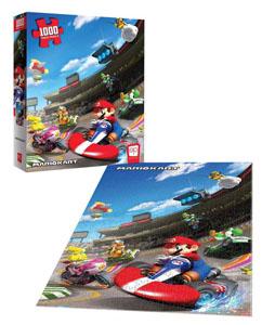 Photo du produit Super Mario puzzle Mario Kart (1000 pièces) Photo 2