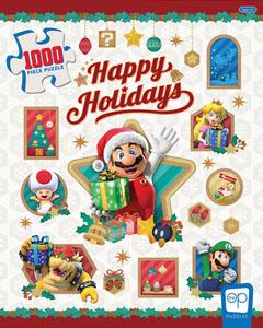 Photo du produit Super Mario puzzle Happy Holidays (1000 pièces) Photo 1
