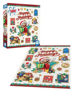 Photo du produit Super Mario puzzle Happy Holidays (1000 pièces) Photo 2