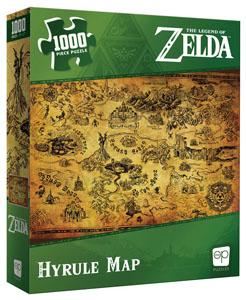 The Legend of Zelda puzzle Hyrule Map (1000 pièces)