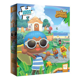 Animal Crossing New Horizons puzzle Summer Fun (1000 pièces)