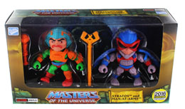 Photo du produit MASTERS OF THE UNIVERSE PACK 2 FIGURINES STRATOS & MAN-AT-ARMS SDCC 2016 8 CM Photo 1