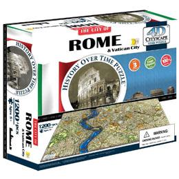 PUZZLE 4D CITYSCAPE ROME ET LE VATICAN