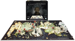 GAME OF THRONES PUZZLE 3D WESTEROS (1400 PIÈCES)