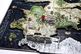 Photo du produit GAME OF THRONES PUZZLE 3D WESTEROS (1400 PIÈCES) Photo 4