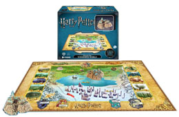 HARRY POTTER PUZZLE 4D LARGE THE WIZARDING WORLD (800 PIÈCES)