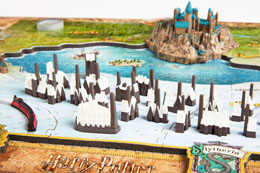 Photo du produit HARRY POTTER PUZZLE 4D LARGE THE WIZARDING WORLD (800 PIÈCES) Photo 3