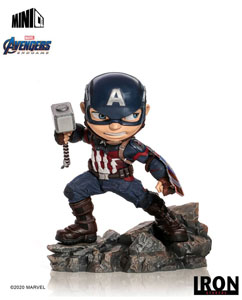 AVENGERS ENDGAME FIGURINE MINI CO. CAPTAIN AMERICA 15 CM