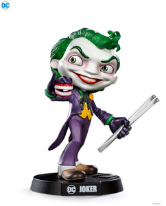 IRON STUDIOS FIGURINE DC MINI CO. DELUXE JOKER 21 CM