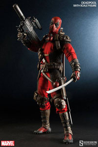 MARVEL COMICS FIGURINE 1/6 DEADPOOL 30 CM