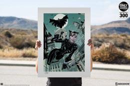 Photo du produit DC COMICS IMPRESSION ART PRINT THE GETAWAY / BATMAN & CATWOMAN 46 X 61 CM - NON ENCADRÉE Photo 3