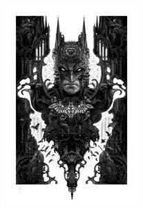 DC COMICS IMPRESSION ART PRINT BATMAN 46 X 61 CM - NON ENCADRÉE
