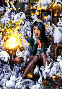 Photo du produit DC COMICS IMPRESSION ART PRINT ZATANNA 46 X 61 CM - NON ENCADRÉE Photo 2