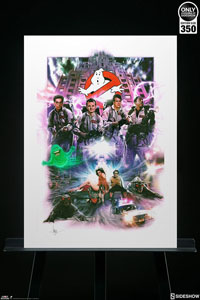 Photo du produit GHOSTBUSTERS IMPRESSION ART PRINT GHOSTBUSTERS 46 X 61 CM - NON ENCADRÉE Photo 1
