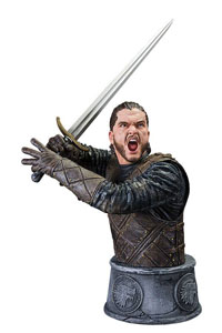 GAME OF THRONES BUSTE JON SNOW BATTLE OF THE BASTARDS