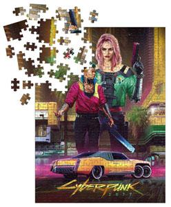 CYBERPUNK 2077 PUZZLE KITSCH