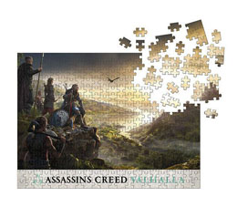 ASSASSIN'S CREED VALHALLA PUZZLE RAID PLANNING (1000 PIÈCES)