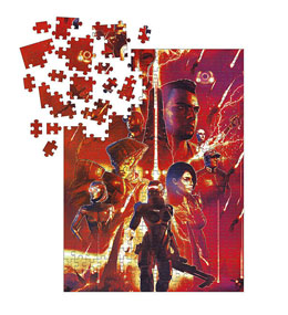MASS EFFECT PUZZLE LEGENDS (1000 PIÈCES)