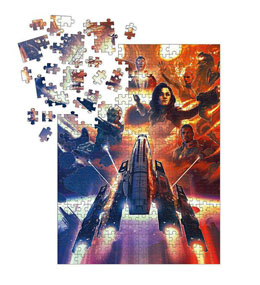 MASS EFFECT PUZZLE OUTCASTS (1000 PIÈCES)