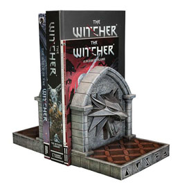 The Witcher 3 Wild Hunt serre-livres The Wolf 20 cm