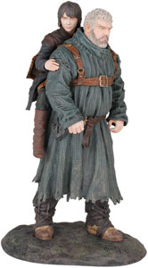 GAME OF THRONES STATUETTE PVC HODOR & BRAN 23 CM