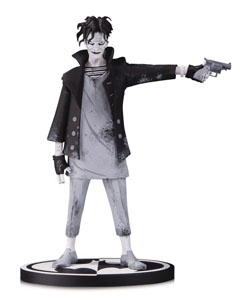 BATMAN BLACK & WHITE STATUETTE THE JOKER BY GERARD WAY 19 CM