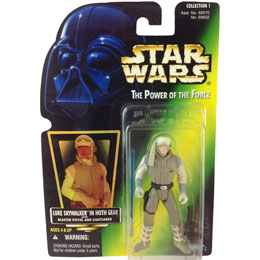 FIGURINE LUKE SKYWALKER HOTH STAR WARS THE POWER OF THE FORCE - KENNER