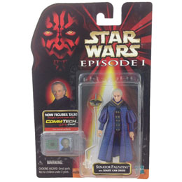 FIGURINE EMPEREUR PALPATINE STAR WARS EPISODE I