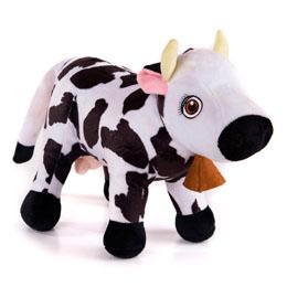 Peluche musicale Lola la vache - La ferme de Zenon