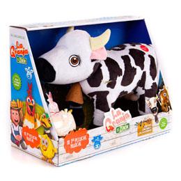 Photo du produit Peluche musicale Lola la vache - La ferme de Zenon Photo 1