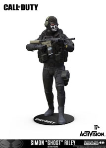 CALL OF DUTY FIGURINE SIMON GHOST RILEY 15 CM