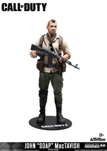 CALL OF DUTY FIGURINE JOHN SOAP MACTAVISH 15 CM